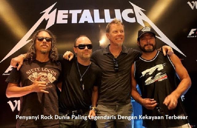 Penyanyi Rock Dunia Paling Legendaris Dengan Kekayaan Terbesar